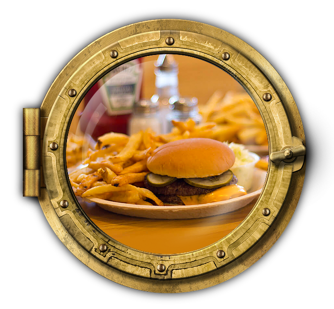 Monday Specials Burger Platter